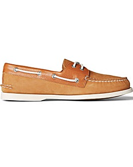 Sperry A/O 2-Eye Tumbled/Nubuck Lace Shoes