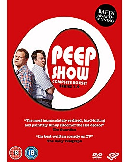Peep Show Series 1 to 9 Complete Box Set
