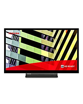"Toshiba 24WD3C63DB 24"" HD Ready DVD Smart TV"