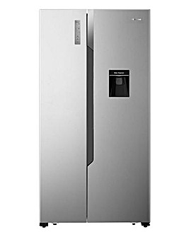 Fridgemaster MS91515DFF American Fridge Freezer - Silver