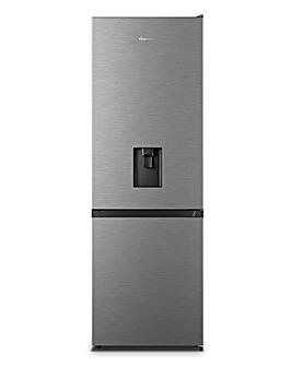 Fridgemaster MC60287DS Freestanding Fridge Freezer - Silver