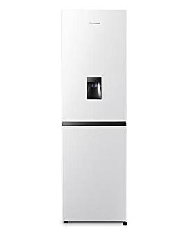 Fridgemaster MC55240MDF Fridge Freezer with Water Dispenser - White