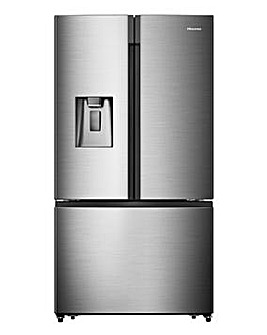 Hisense RF750N4ISF American Fridge Freezer - Stainless Steel