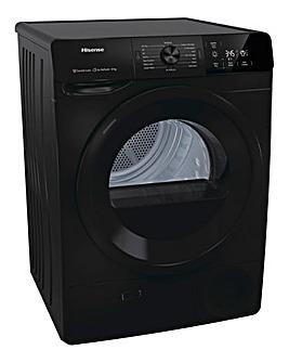 Hisense DCGE802B 8kg Condenser Tumble Dryer - Black