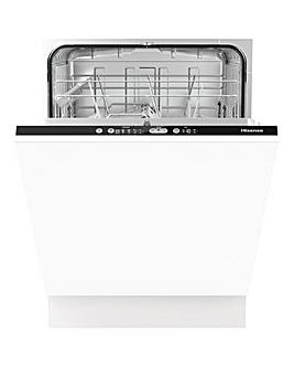 Hisense HV651D60UK Integrated 13-place Full-Size Dishwasher