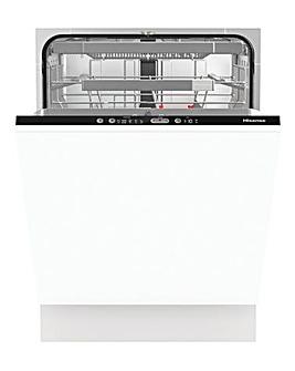 Hisense HV671C60UK Integrated 16-place Full-Size Dishwasher