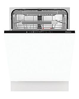 Hisense HV672C60UK Integrated 16-place Standard Full-Size Dishwasher