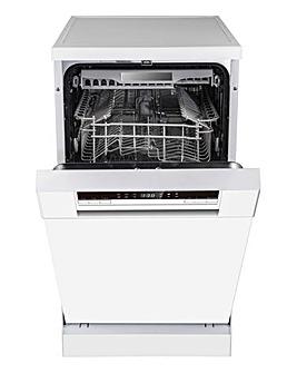 Hisense HS520E40WUK Freestanding 11-place Slimline Dishwasher - White