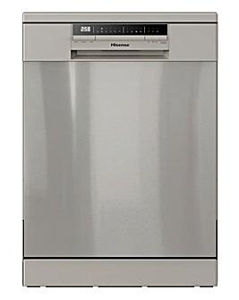 Hisense HS60240XUK Freestanding 13-place Full-Size Dishwasher - Stainless Steel