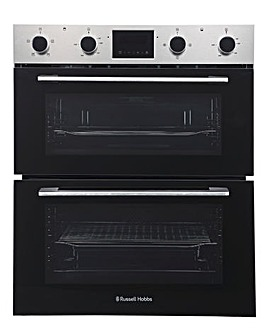 Russell Hobbs RH72DEO1002SS Built-Under Electric Fan Oven - Stainless Steel