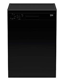 Beko DFN05320B Freestanding 13 Place Full-Size Dishwasher - Black