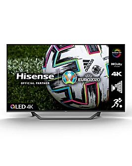 Hisense QLED 65A7GQTUK 65 4K UHD HDR SMART TV with Alexa & Google Assistant