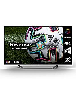 Hisense QLED 55A7GQTUK 55 4K UHD HDR SMART TV with Alexa & Google Assistant