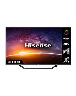 "Hisense QLED 65A7GQTUK 65"" 4K UHD HDR Smart TV"