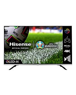 Hisense QLED 50E76GQTUK 50 4K UHD HDR SMART TV with Alexa & Google Assistant