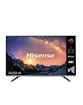 """Hisense QLED 50E76GQTUK 50"""" 4K UHD HDR Smart TV"""