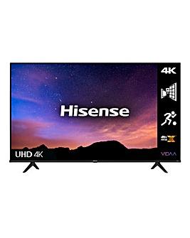 "Hisense 43A6GTUK 43"" 4K UHD HDR Smart TV"