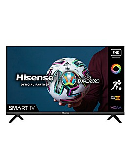 Hisense 40A4GTUK 40 Smart Full HD TV with Freeview Play