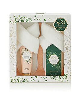 S&G Spa Botanique Luxury Slipper Set