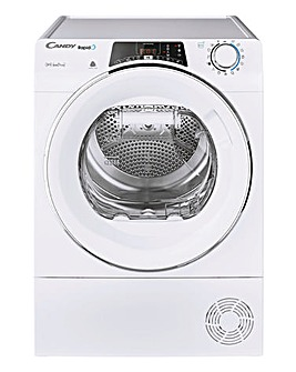 Candy ROE H9A2TCE-80 Rapido 9kg Heat Pump Tumble Dryer - White