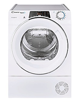 Candy ROE H10A2TCE-80 Rapido 10kg Heat Pump Tumble Dryer - White