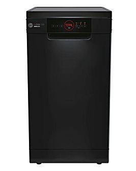 Hoover HDPH 2D1049B-80 Freestanding 10-Place Slimline Dishwasher - Black