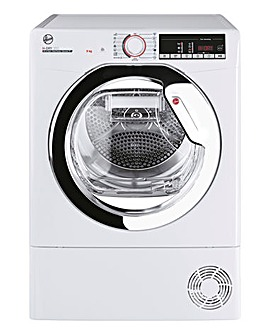 Hoover H-Dry 300 HLE H9A2TCE-80 9kg Heat Pump Tumble Dryer - White