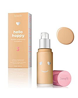 Benefit Hello Happy Flawless Brightening Foundation 330ml Shade 03