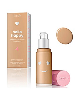 Benefit Hello Happy Flawless Brightening Foundation 330ml Shade 04