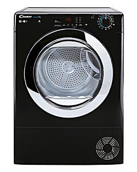 Candy CSOE C9DCGB-80 9kg Condenser Tumble Dryer - Black + INSTALLATION