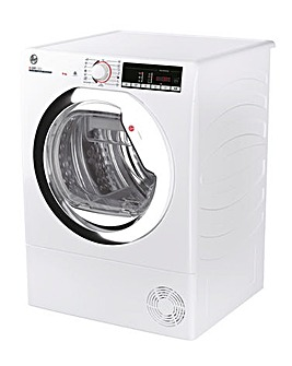 Hoover H-Dry 300 HLEC9TCE-80 9kg Condenser Tumble Dryer - White + INSTALLATION