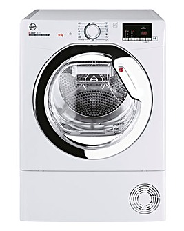 Hoover H-Dry 300 HLEC10DCE-80 10kg Condenser Tumble Dryer - White