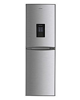 Candy CHCS 517FSWDK 50/50 Fridge Freezer with Water Dispenser - Silver