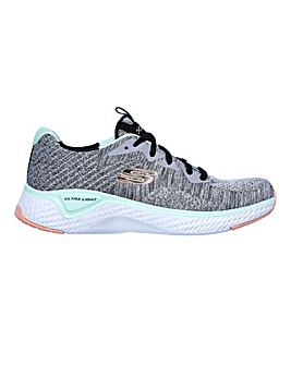 Skechers Solar Fuse Trainers Wide Fit