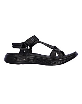 Skechers On-The-Go 600 Brilliancy Sandals Wide Fit