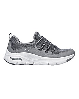 Skechers Arch Fit Rrainbow View Trainers Wide Fit