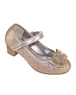 Sparkle Club Gold Heeled Shoes