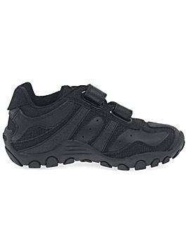 Geox Crush F Fit School Shoes