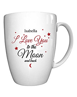 Personalised Love You to the Moon and Ba