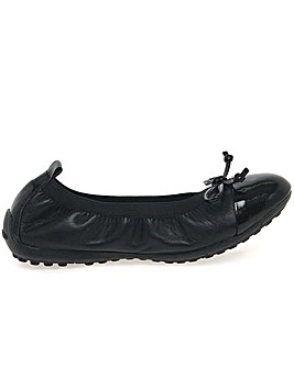 Geox Piuma Junior Girls Ballerina Shoes