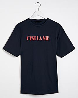 C'est La Vie Slogan T-shirt