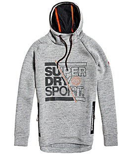 Superdry Gym Tech Graphic Hoodie