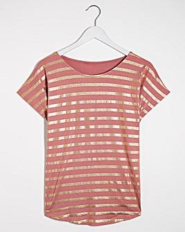 Foil Stripe T-Shirt