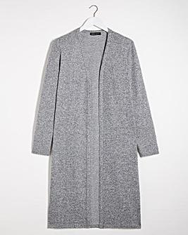 Cut and Sew Longline Cardigan