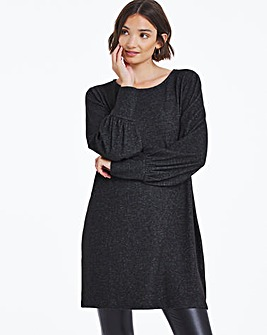 Cut and Sew Volume Sleeve Tunic