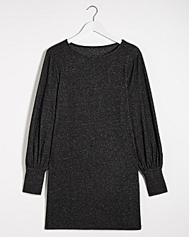 Cut and Sew Volume Sleeve Tunic