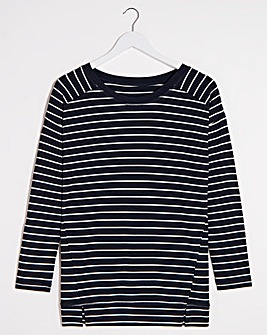 Sparkle Stripe L/S Top