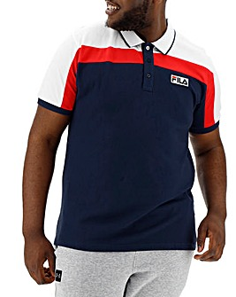 Fila Stan Vintage Colour Block Polo