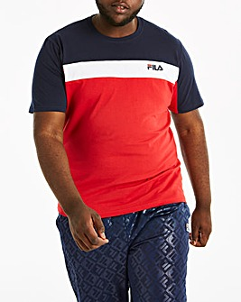 Fila Anderson Colour Block T-Shirt