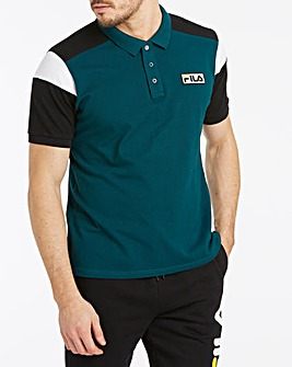 Fila Malik Vintage Colour Block Polo